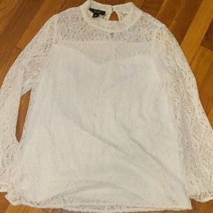 AGB lace blouse